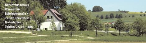 90 Jahre Naturfreundhaus Römerstein